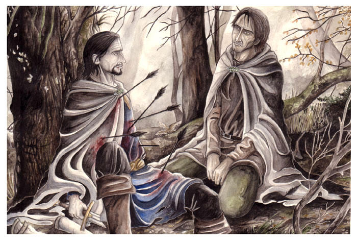 The Death of Boromir by peet