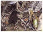 The Witch King before Eowyn