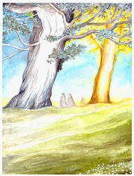 The Two Trees of Valinor by peet