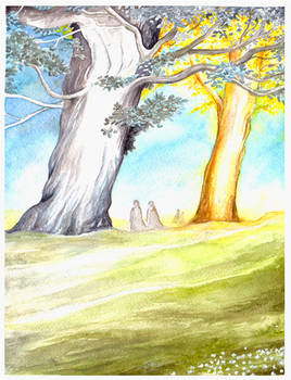 The Two Trees of Valinor