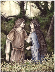 Beren and Luthien by peet