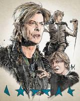 Bowie Study by Jonathon471