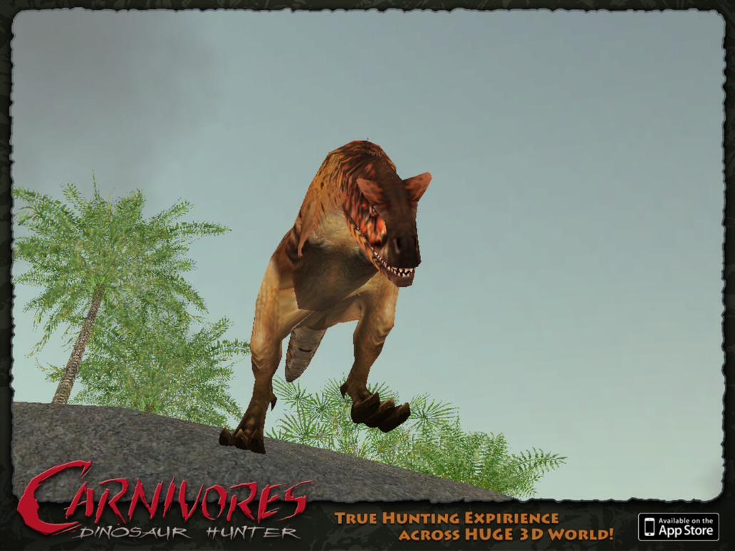 Carnivores Dinosaur Hunter: Carnotaurus sastrei by 6500nya ...