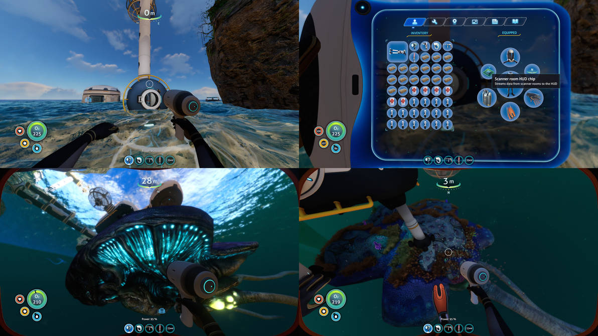 Subnautica Original Gameplay 09 By 6500nya On Deviantart The scanner room is a seabase module. deviantart