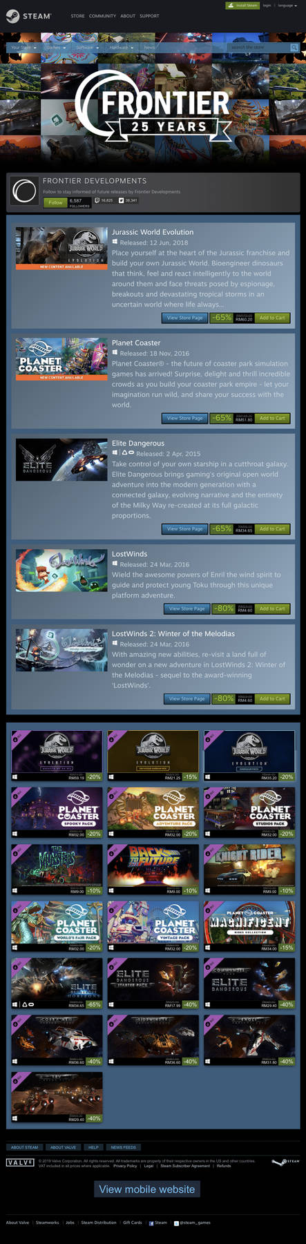 STEAM 2019 Frontier 25th Years Weekend by 6500nya