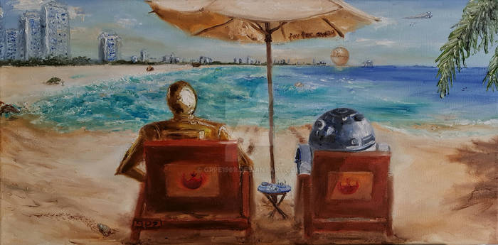 The Droids on the Beach
