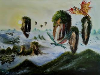 Invasion of Paradise (El Pueblo Unido) by grpe1969