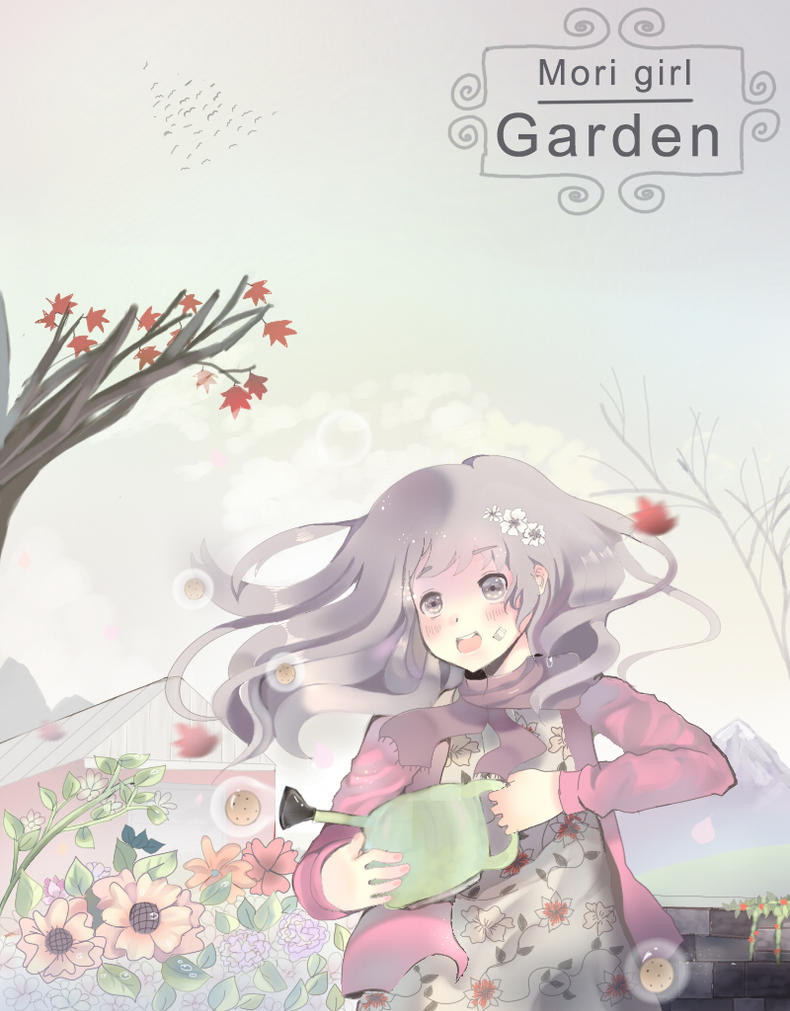 .:Mori girl Garden:. by yumiMitsuki