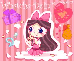 Whatcha-Doin'? by Honey-Puff