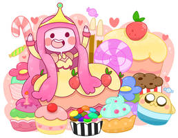 Cupcake Dress by Honey-Puff