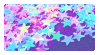 Stars 2 Stamp by K3NNA