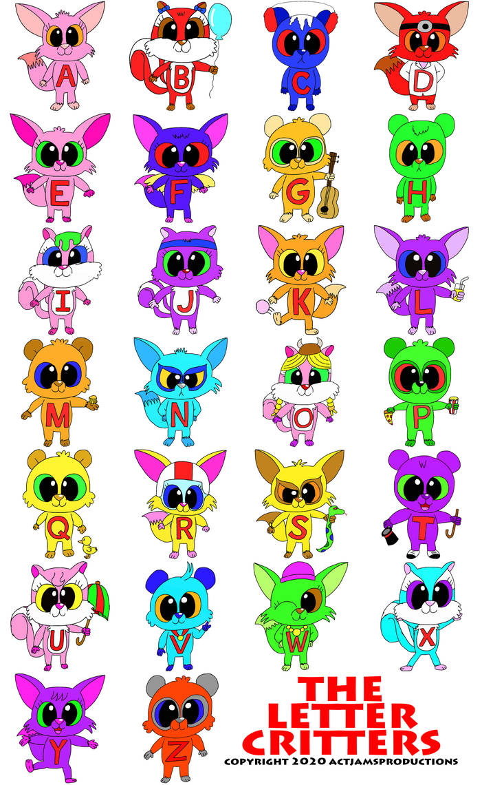 My Letter Critters
