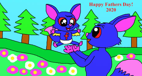 Happy Fathers Day from The Letter Critters!