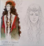 The Queen of Mirkwood - first sketches