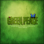 Green Peace Typography by arthas13