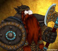 Dwarven Warrior by Archaia