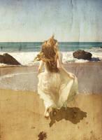 Run on the beach by cyrano82