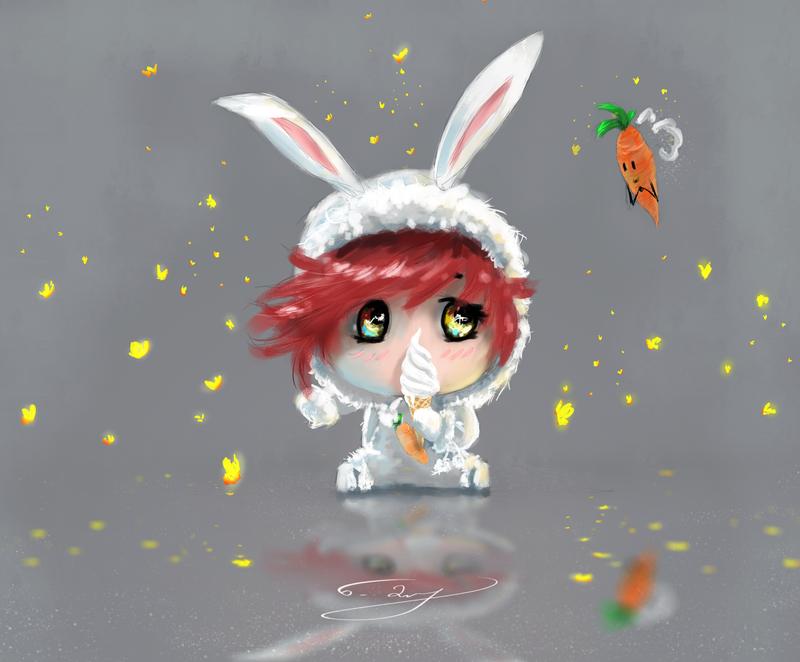 Little Rabbit by Kamikadze1998