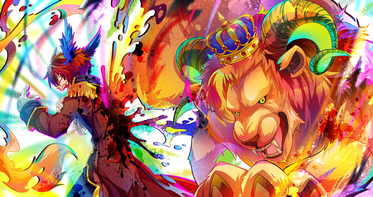 King of Madness by AquaZircon