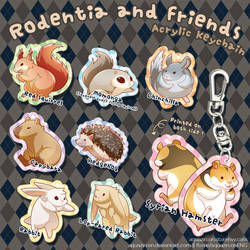 Rodentia N Friends by AquaZircon