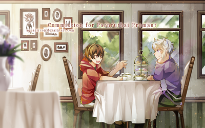 CM : Vintage Cafe by AquaZircon