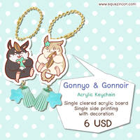 [Keychain] Gonnyo The Rodentia #2