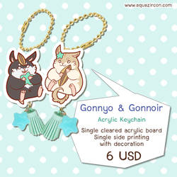 [Keychain] Gonnyo The Rodentia #2 by AquaZircon