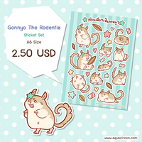 [Sticker] Gonnyo The Rodentia