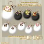 Puffy Monster Hunter Acrylic Keychain #1