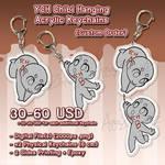 YCH Commission Hanging Custom Acrylic Keychain