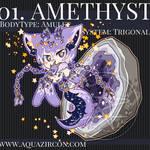 Cristella No.01 - Amethyst