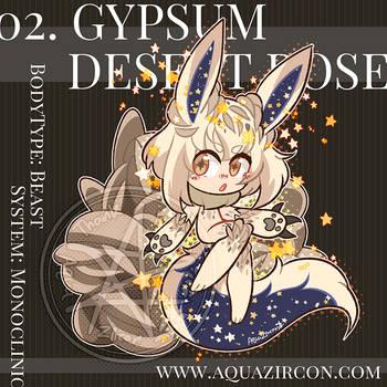 Cristella No.02 - Gypsum Desert Rose