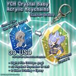 YCH Commission Crystal Baby Acrylic Keychain