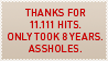 11.111 stamp by pyros