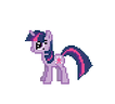 Twilight Sparkle Teleport by Steglad
