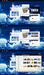 Cloudy Desktop by IMLYING2U