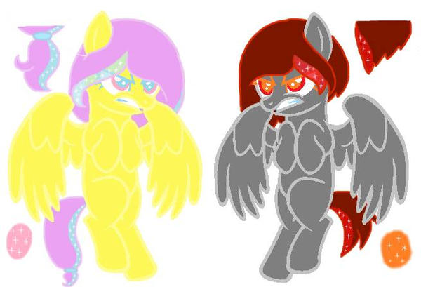 Glitter-Gel Ponies Auction (open) (Light and dark) by DG-NWAdopts