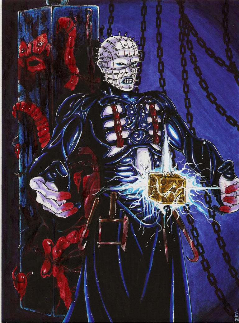 PinHead by BlackCoatl on DeviantArt