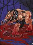 Chatterer Beast by BlackCoatl