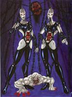 Wire Twins by BlackCoatl
