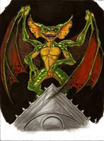 Bat Body Gremlin by BlackCoatl