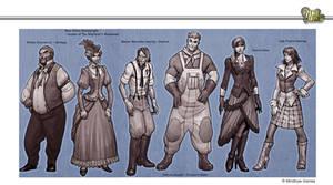 Steampunk Lineup #2