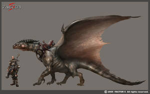 Dragon Study by Concept-Art-House