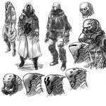 Alien Spacesuit Concept