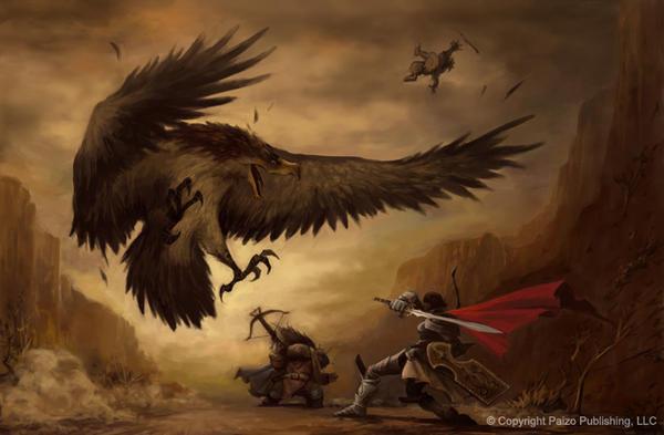 Golden Eagle Painting Black