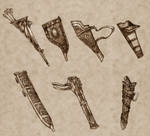 Weapon Sheathes