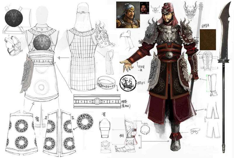 Warrior Clothing Design By Concept Art House On Deviantart