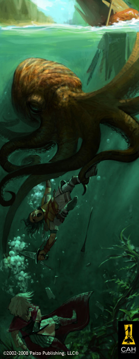 Underwater Brawl by Concept-Art-House