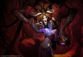 Demonic Tutor by Concept-Art-House