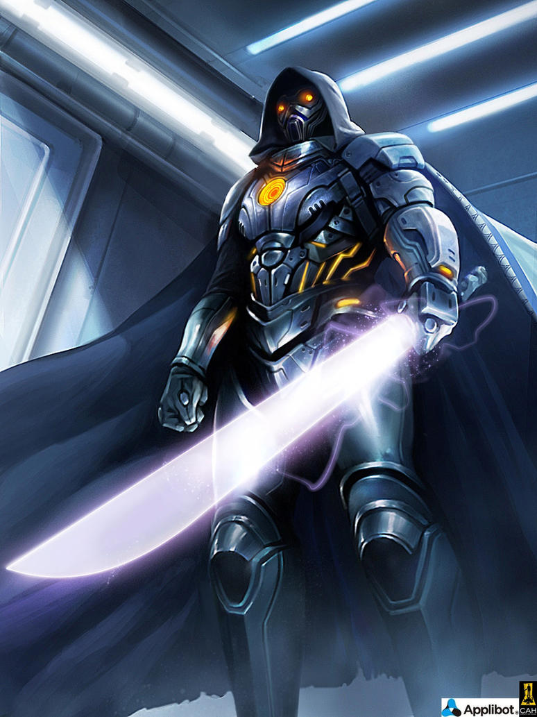 Galaxy Knight Advanced by Concept-Art-House